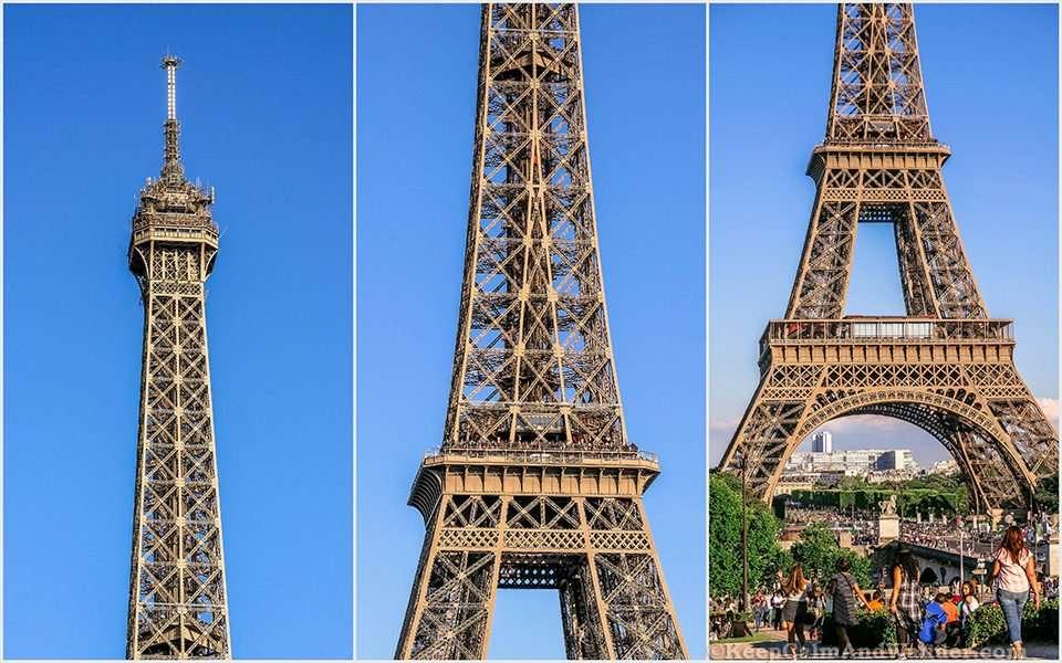 The Magnificent Eiffel Tower (Paris, France).