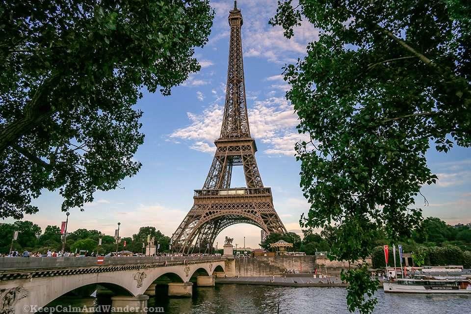The Stunning Eiffel Tower (Paris, France).
