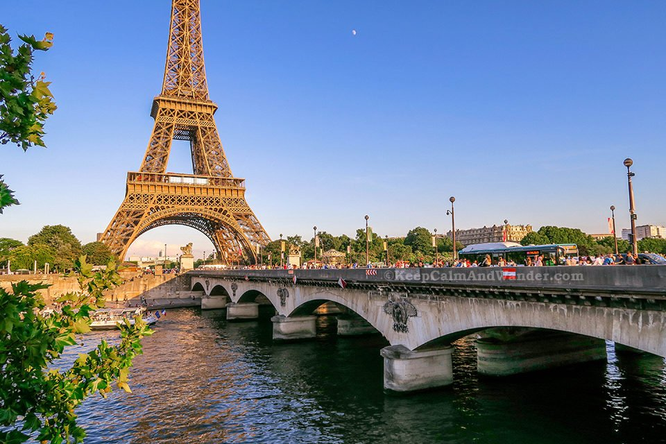 The Stunning Eiffel Tower (Paris, France).