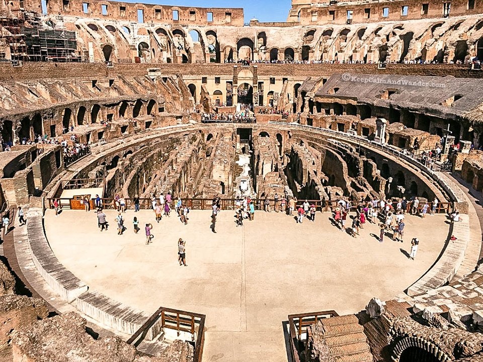 inside roman colosseum rome italy 10 keep calm and wander