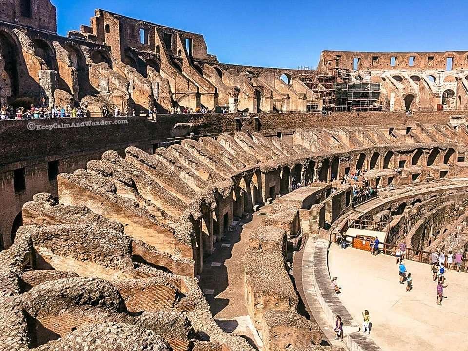 Take a Peek: Inside the Roman Colosseum (Rome, Italy).