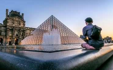 Louvre Museum at Night Photos Paris France 17