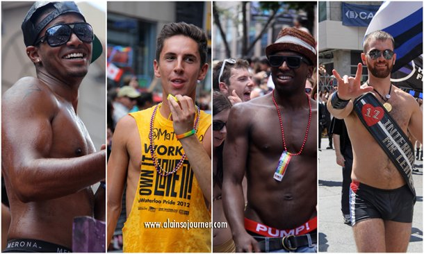 The Boys of Toronto Pride Parade 2012