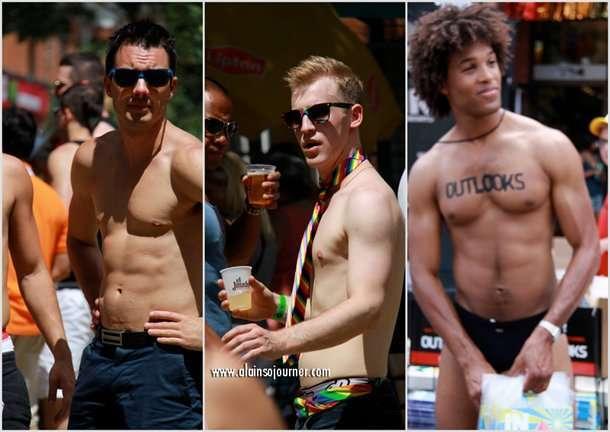 2012 The Boys of Toronto Pride Parade.