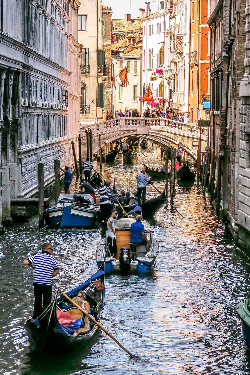 Bridge of Sighs is the Only Bridge in the World That Connects a Palace and a Prison (Venice, Italy).