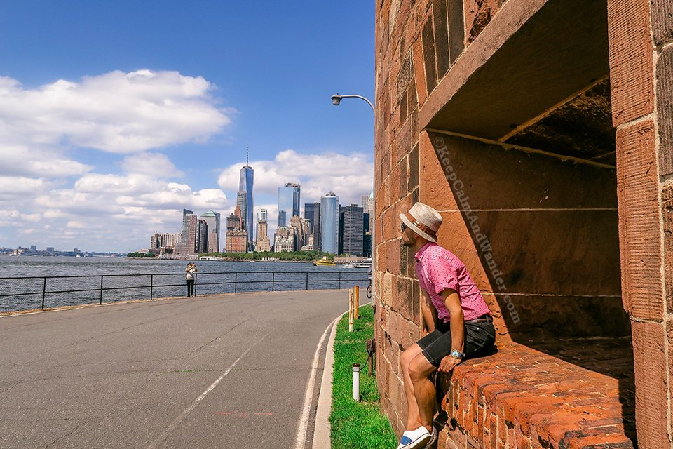 View of New York From Governor's Island (New York, USA).