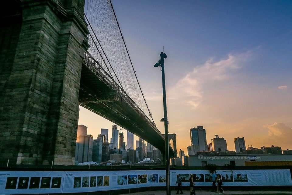 Brooklyn Bridge (Dumbo, Brooklyn, New York).