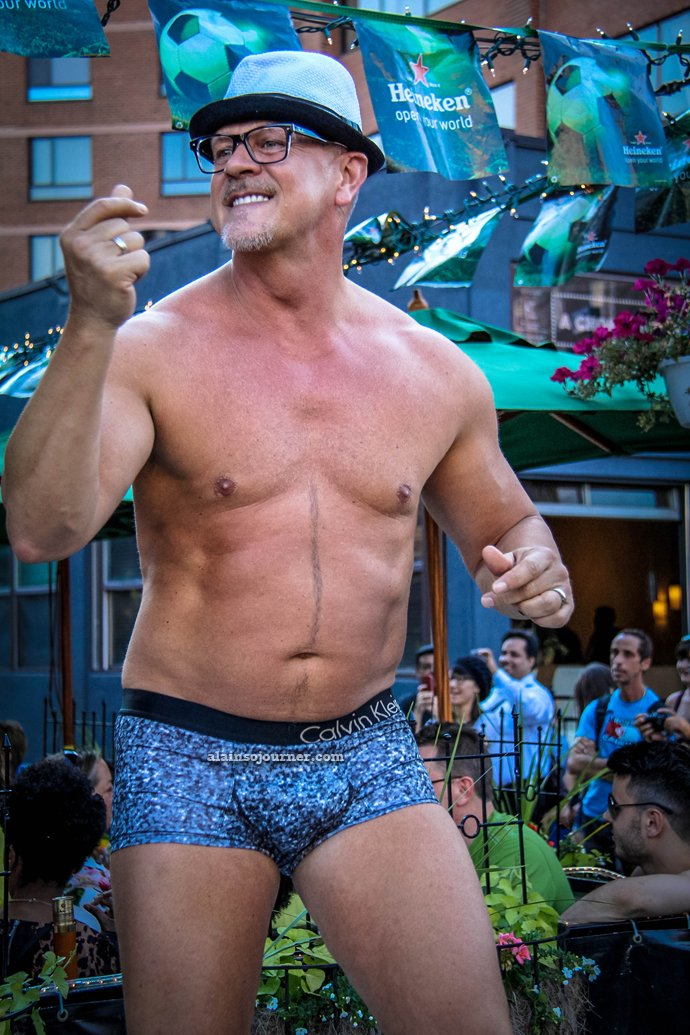 Underwear Show at California Cafe for World Pride