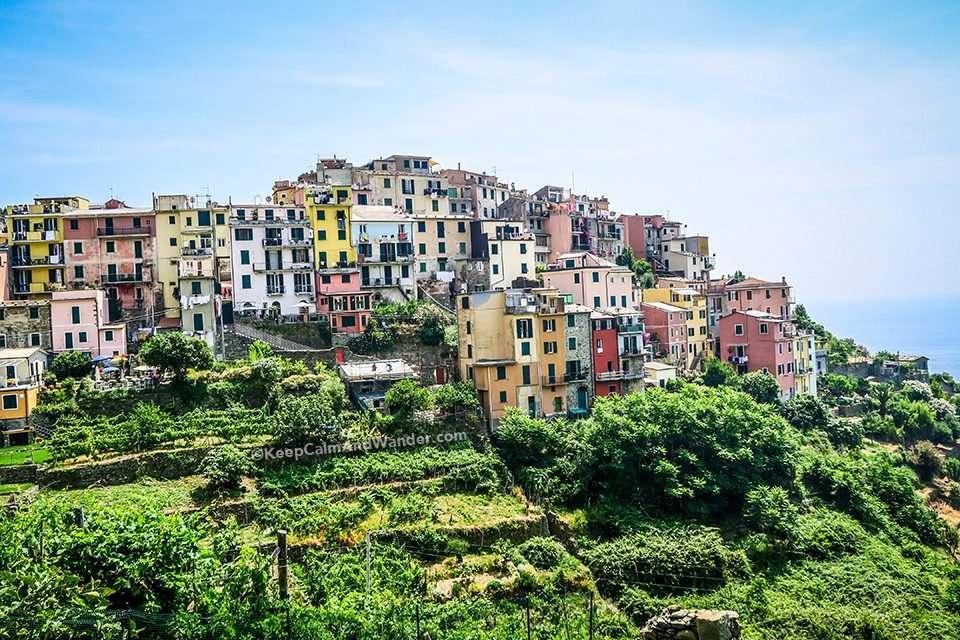 Corniglia is the Oldest Village in Cinque Terre Mentioned in Decameron (Italy).