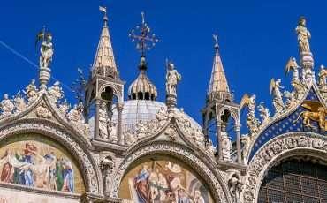 Mosaics of San Marco Basilica St Mark Venice Italy 7