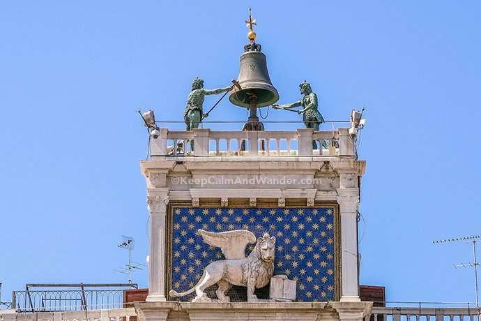 St. Mark's Basilica / Basilica di San Marco Glitters in Gold (Venice, Italy).