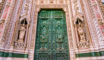 Door Florence Cathedral Italy