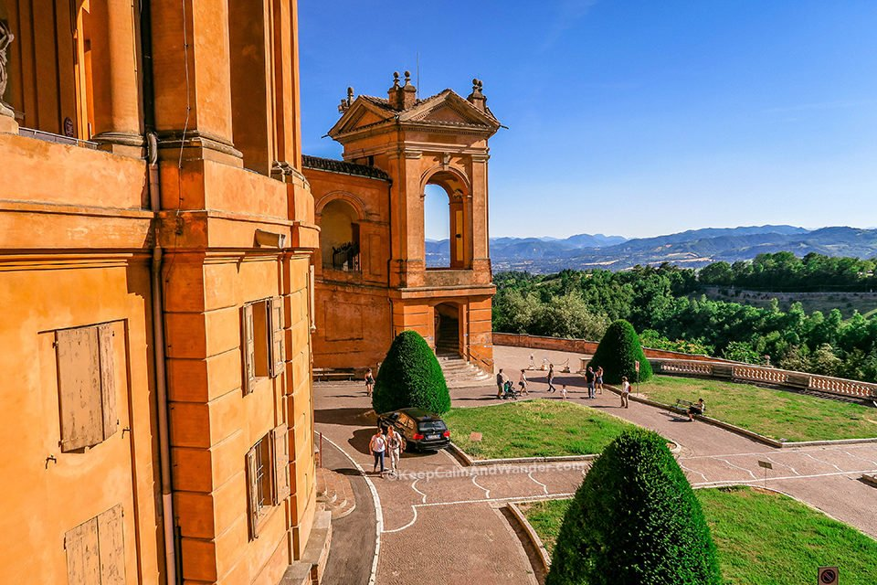 Portico di San Luca - The Road to Sanctuary of the Madonna (Bologna, Italy).