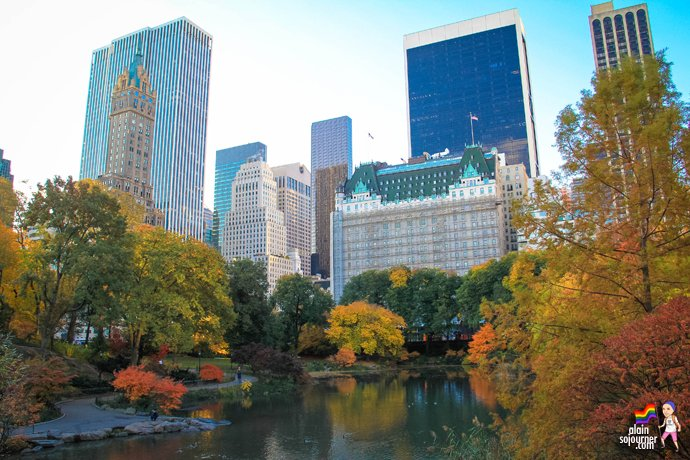 Autumn In New York Central Park Fall Colours