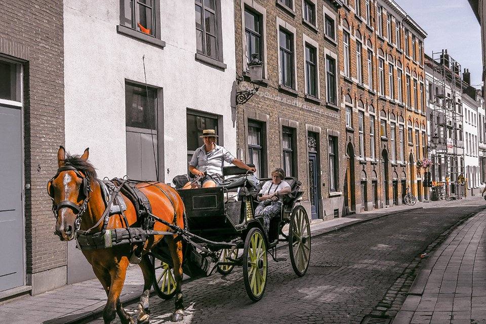 I Spent a Day in Bruges and I did My Own Walking Tour (Belgium).
