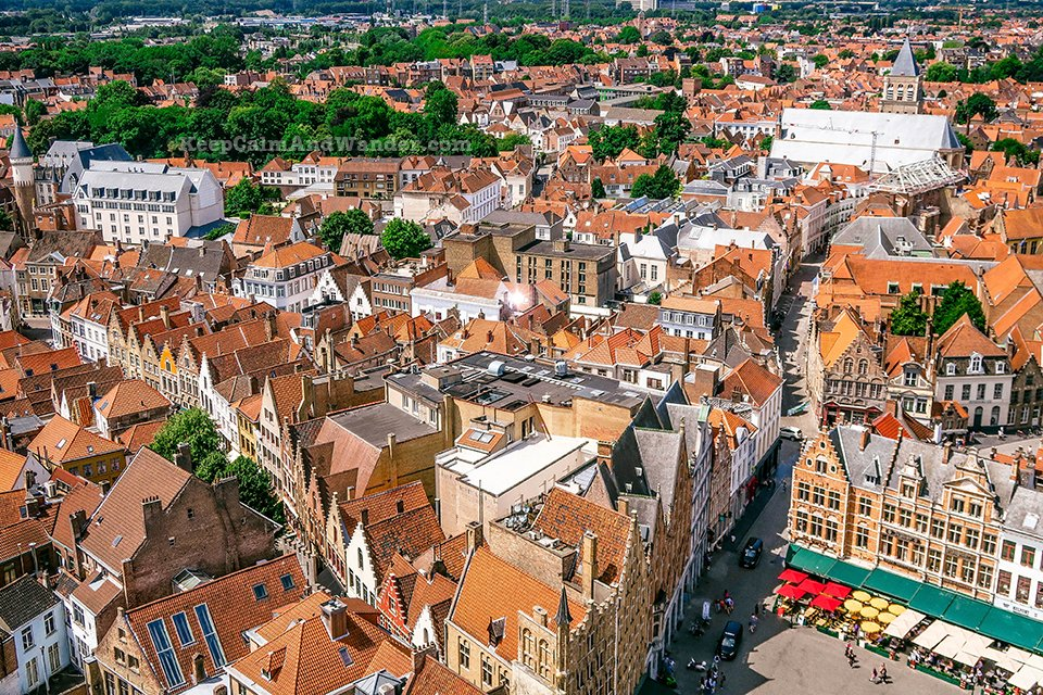 Belfry / I Spent a Day in Bruges and I did My Own Walking Tour (Belgium).