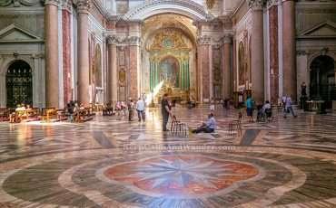 Basilica de Maria degli Angeli del Martiri Rome Italy 19