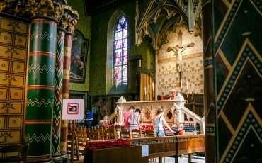 Basilica of the Holy Blood Bruges Belgium 6