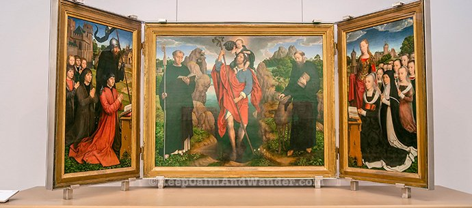 The Finest Flemish Paintings Are Here at Groeninge Museum in Bruges (Belgium).