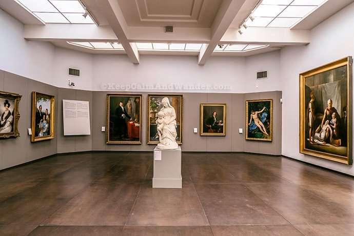 The Finest Flemish Paintings Are Here at Groeningemuseum in Bruges (Belgium).