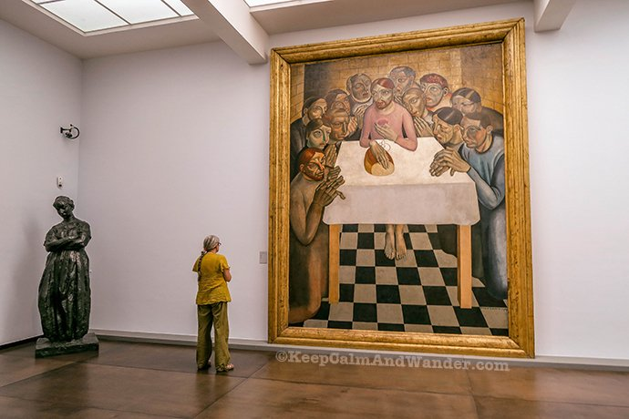 The Finest Flemish Paintings Are Here at Groeningemuseum (Bruges, Belgium).