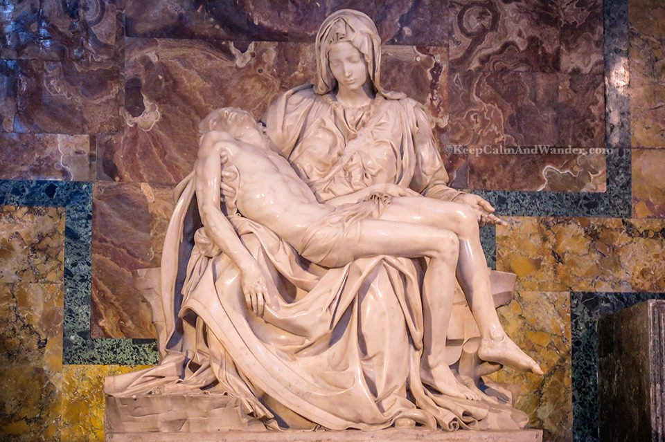 5 Facts About Michelangelo's Pieta (St. Peter's Basilica, Rome, Italy).