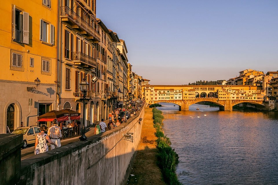 Ponte Vecchio - Hitler Liked the View of Florence From Here (Italy).