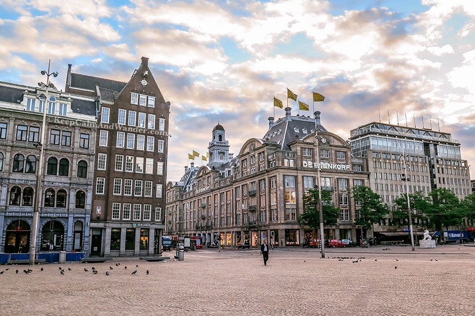 What Amsterdam Looks Like in the Morning. (Netherlands).
