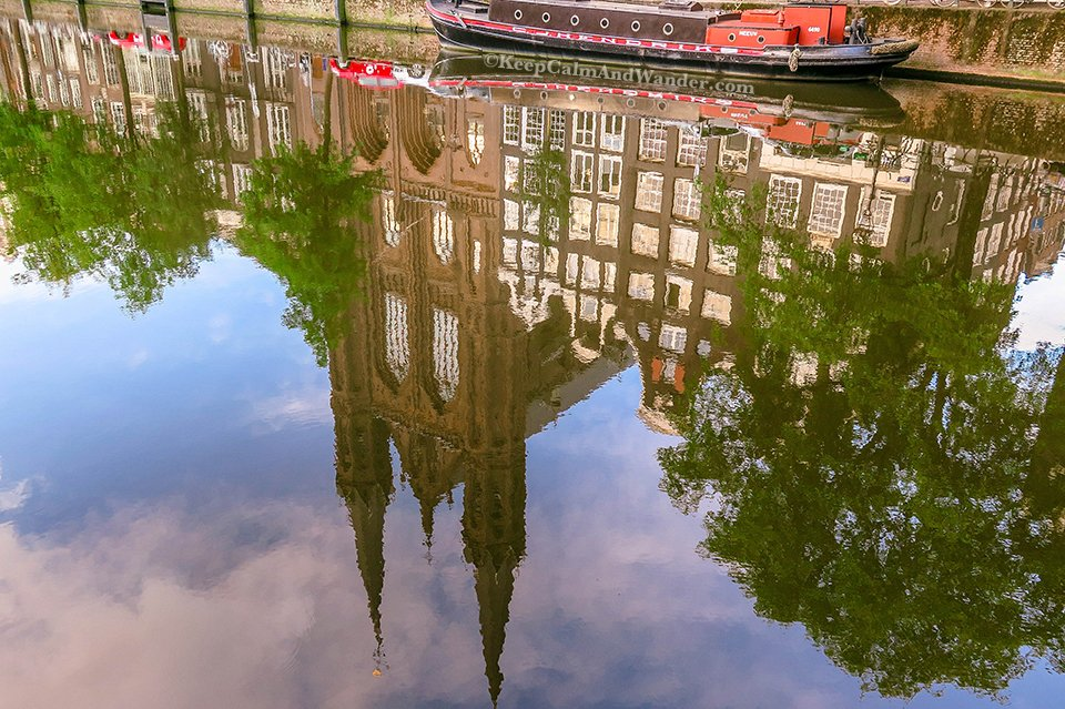 What Amsterdam Looks Like in the Morning (Netherlands).