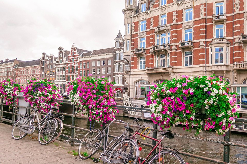 What Amsterdam Looks Like Without the Tourists - Morning in Amsterdam (Netherlands).
