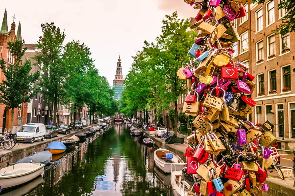 What Amsterdam Looks Without the Tourists (Netherlands).