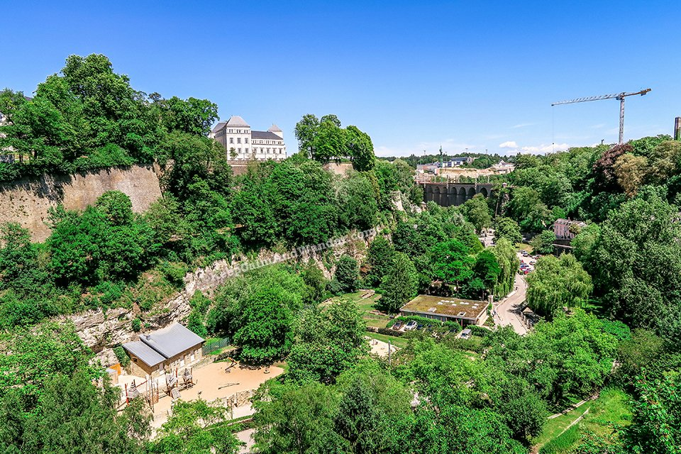 Chemin de la Corniche Promenade in Luxembourg is Europe's Most Beautiful Balcony