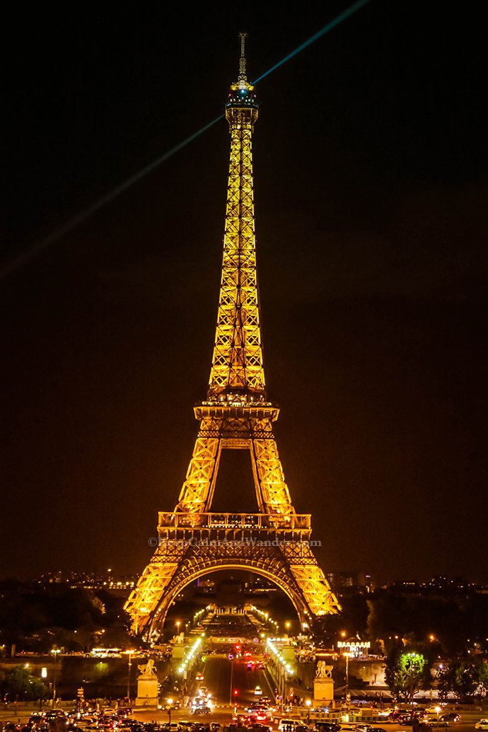 The Eiffel Tower at Night - Is it Really Romantic? (Paris, France)