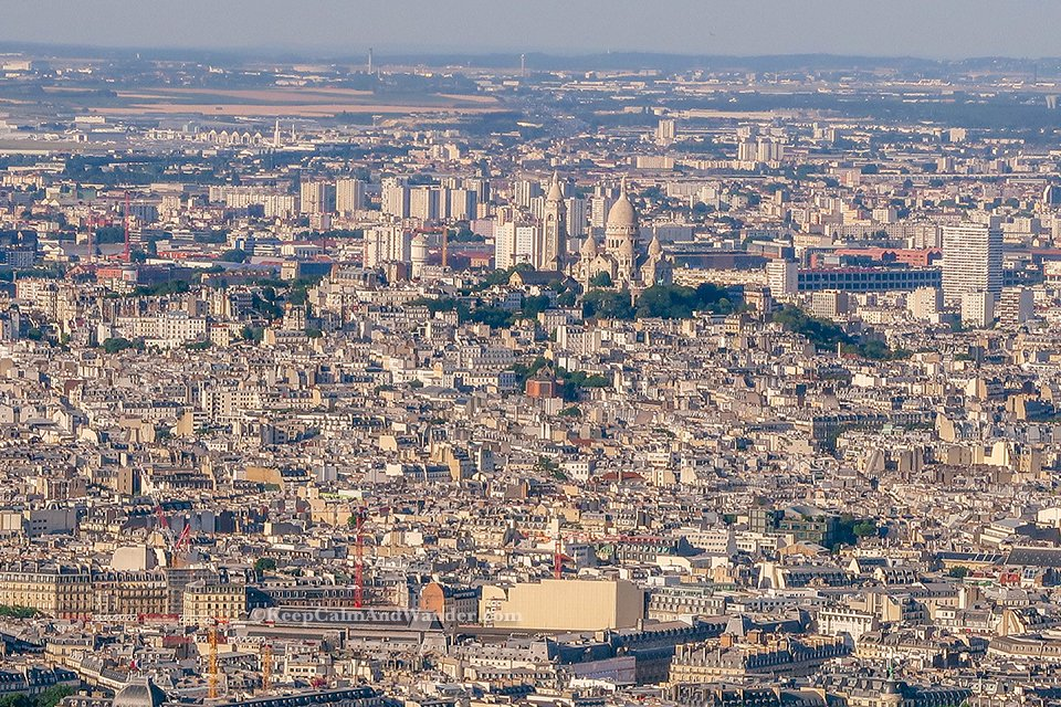 I Climbed the Eiffel Tower in Paris and These are the Views From Up There (France).