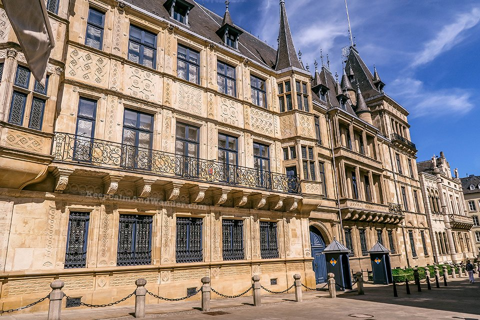 The Grand Ducal Palais in Luxembourg Has Got an Impressive Facade.