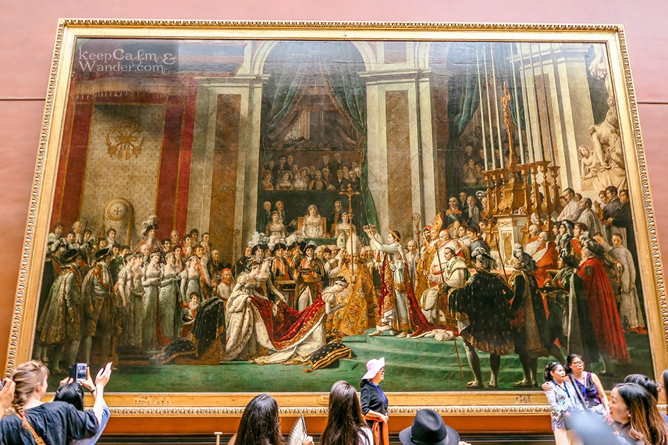 10 Masterpieces Not To Miss at Louvre Museum in Paris (France). / The Coronation of Napoleon