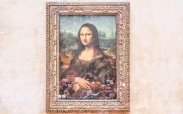 Monalisa Louvre Museum Paris France 3
