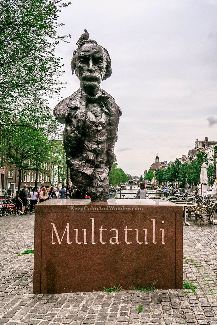 Multatuli Statue Amsterdam, Netherlands