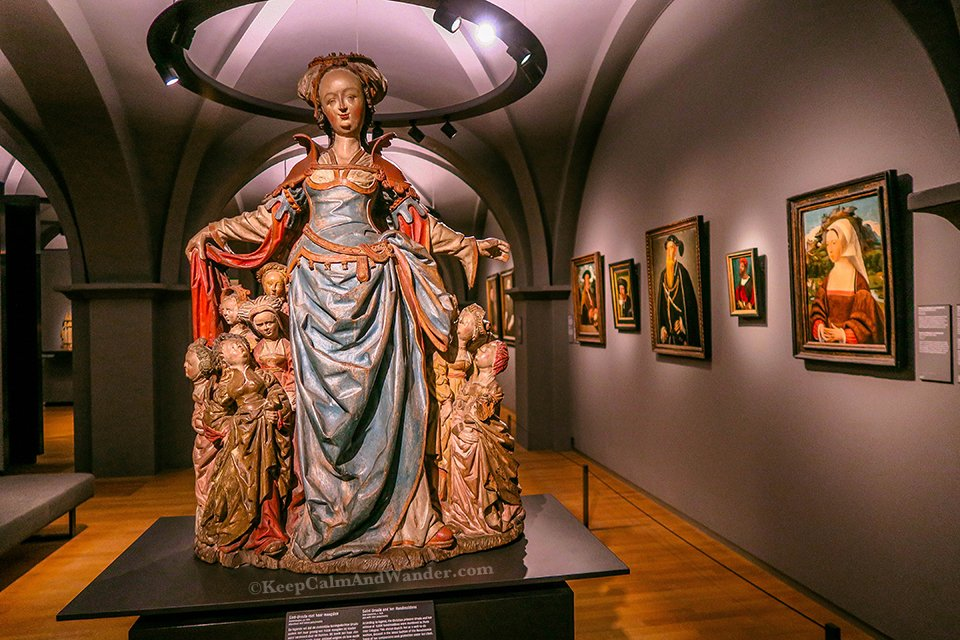 Arts of Religious Themes inside RijksMuseum in Amsterdam (Netherlands).