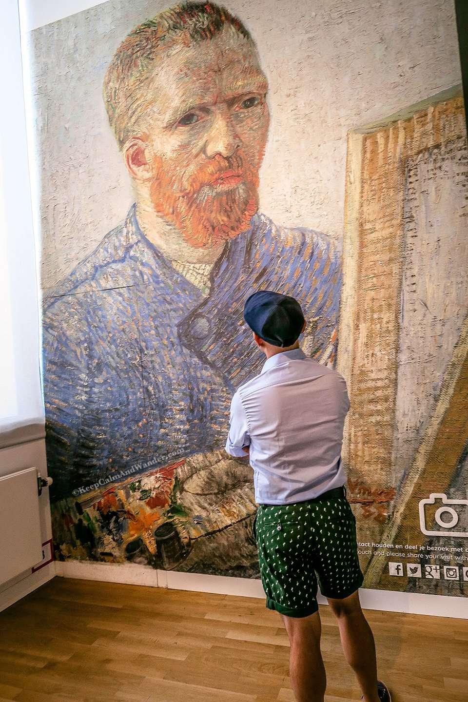 Van Gogh Museum in Amsterdam (Netherlands).