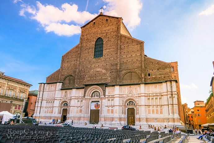 Basilica de San Petronio in Bologna Was Instrumental in the Creation of the Leap Year (Italy).