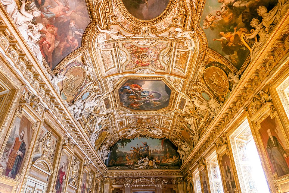 From the walls to ceiling, the museum is covered in wondrous art!