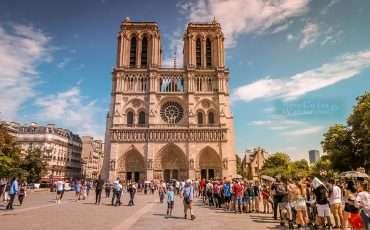 Notre Dame Cathedral Paris France 2