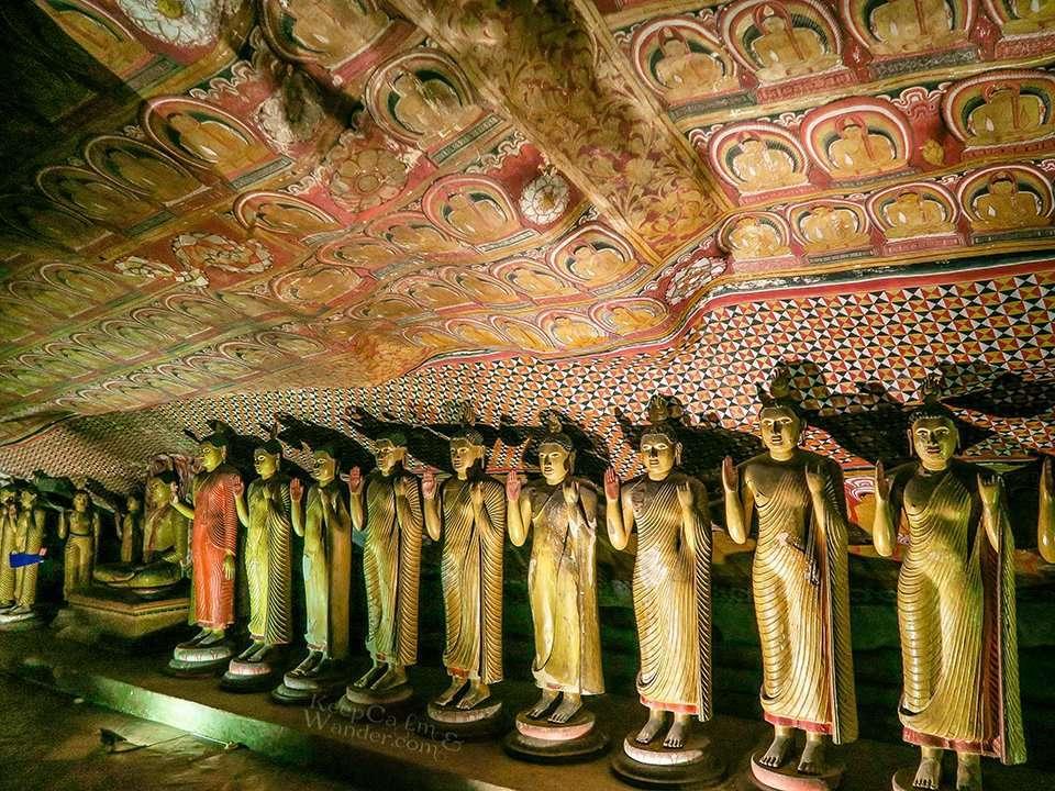Dambulla Cave Temple is The Sistine Chapel of the Buddhism World (Sri Lanka).