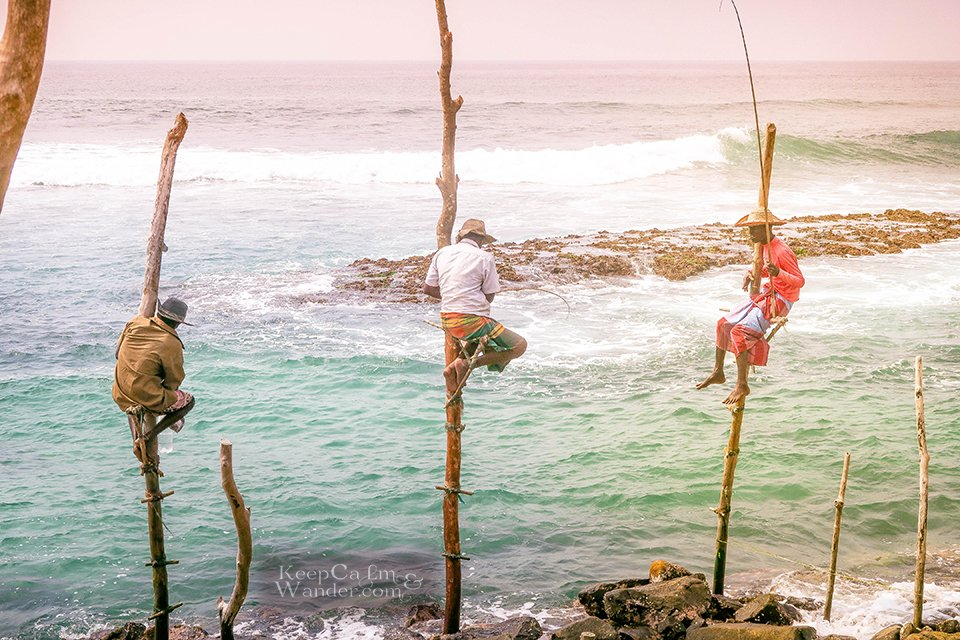 Fishermen on stilts