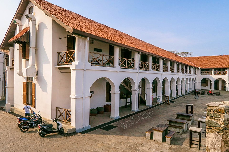 My Walking Tour Around Galle Fort (Sri Lanka).