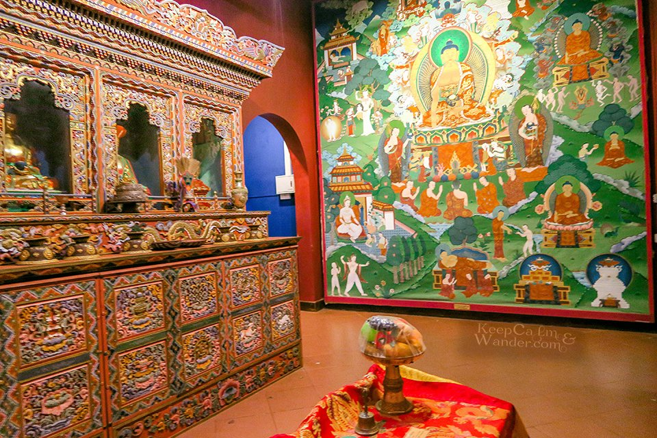 World Buddhism Museum - Temple of the Sacred Tooth Relic (Kandy, Sri Lanka).