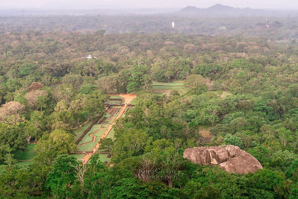 Hotel Hostel Sigiraya, Sri Lanka.