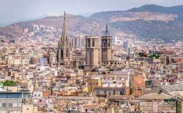 Montjuic Barcelona Spain