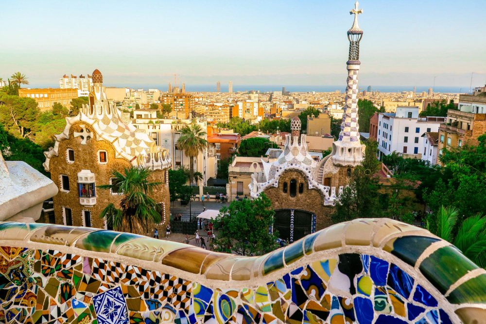 Park Guell The Obvious and Not-So-Obvious Things to do in Barcelona.